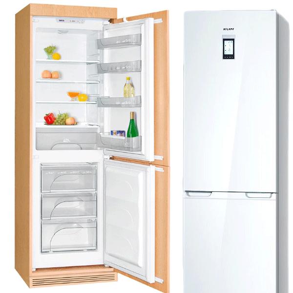 ремонт встраиваемого холодильника Атлант